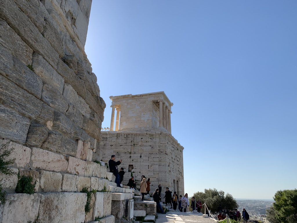 Temple Of Nike on Acropolis
