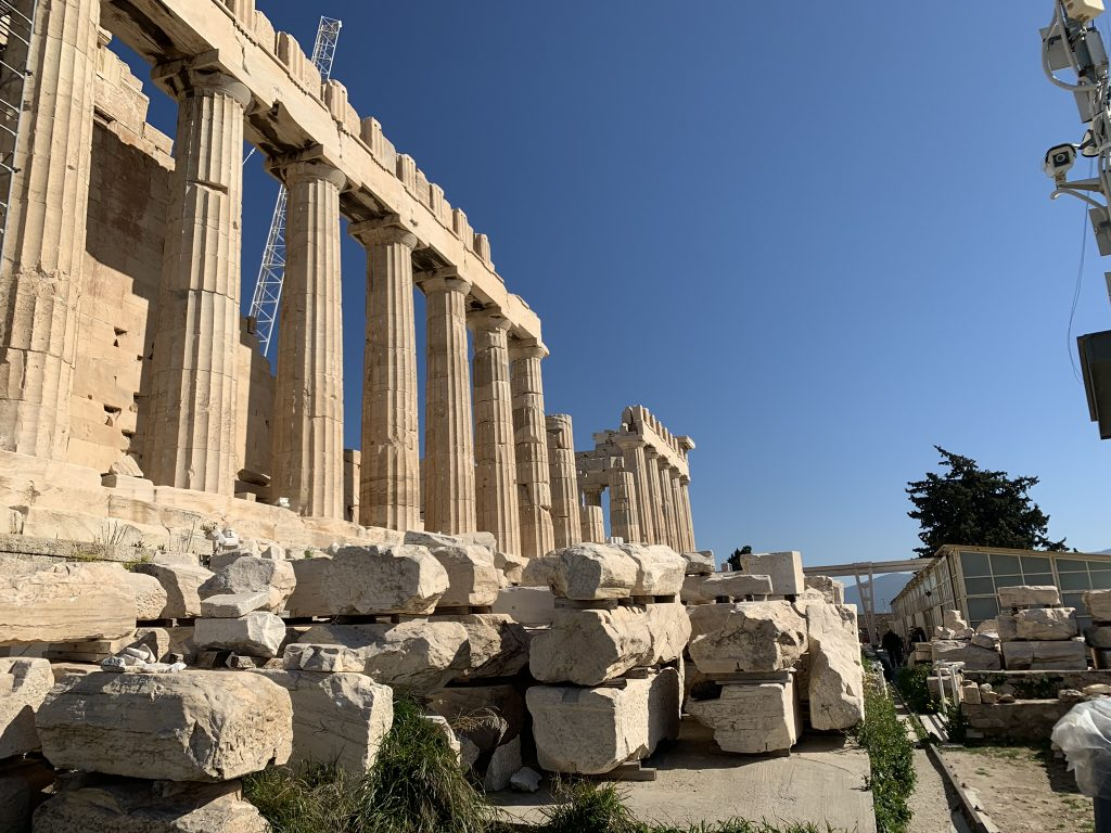 Parthenon Temple of Athena, The cradle of western ...