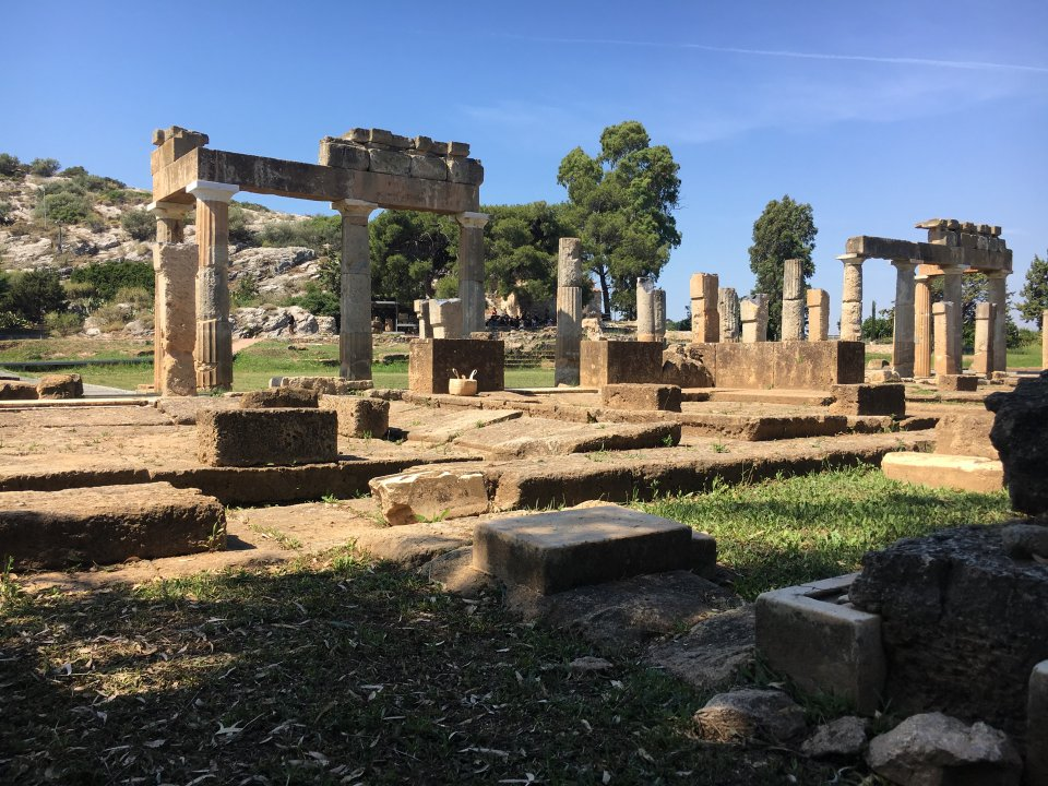 Temple Of Artemis Brauron