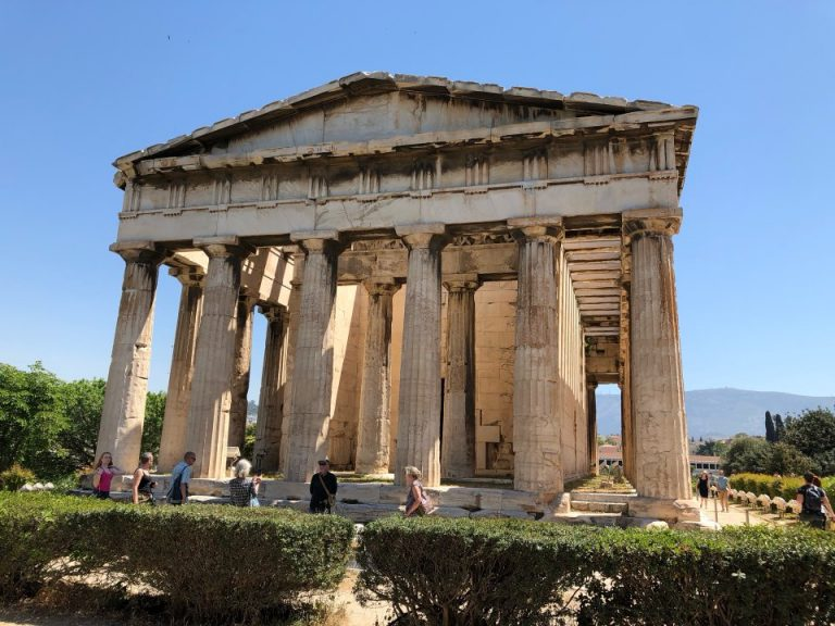Temple of Hephaestus, Ancient Agora Tour