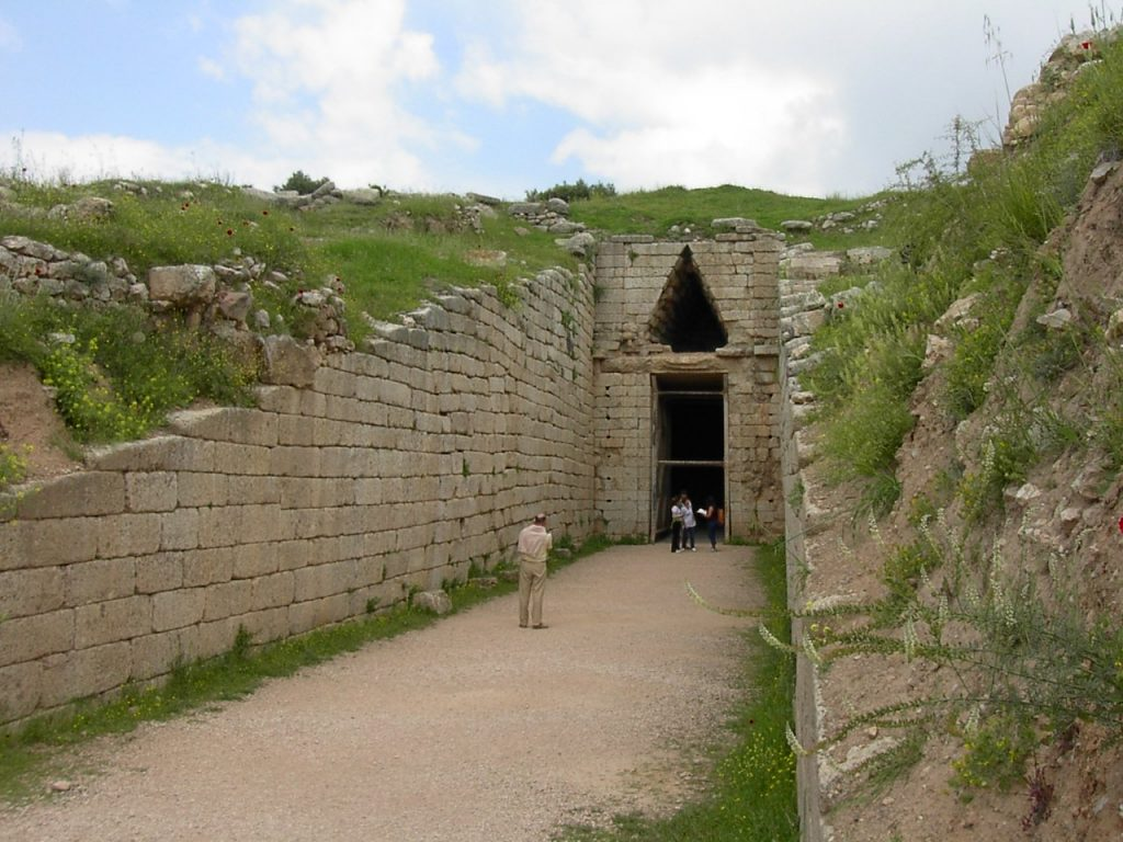 Mycenae Tomb Of Agamemnon