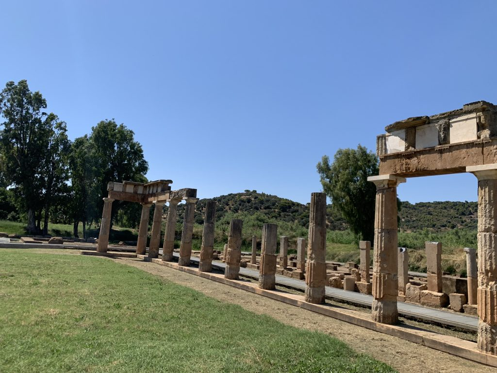 Temple Of Artemis Vravrona