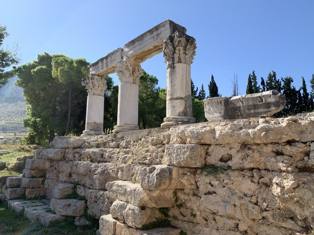 Ancient Corinth - Tours Of Greece From Athens