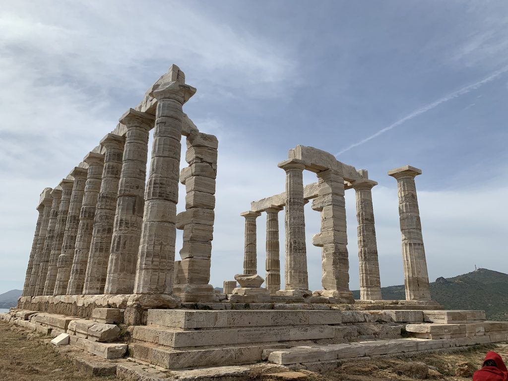TEMPLE POSEIDON CAPE SOUNIO