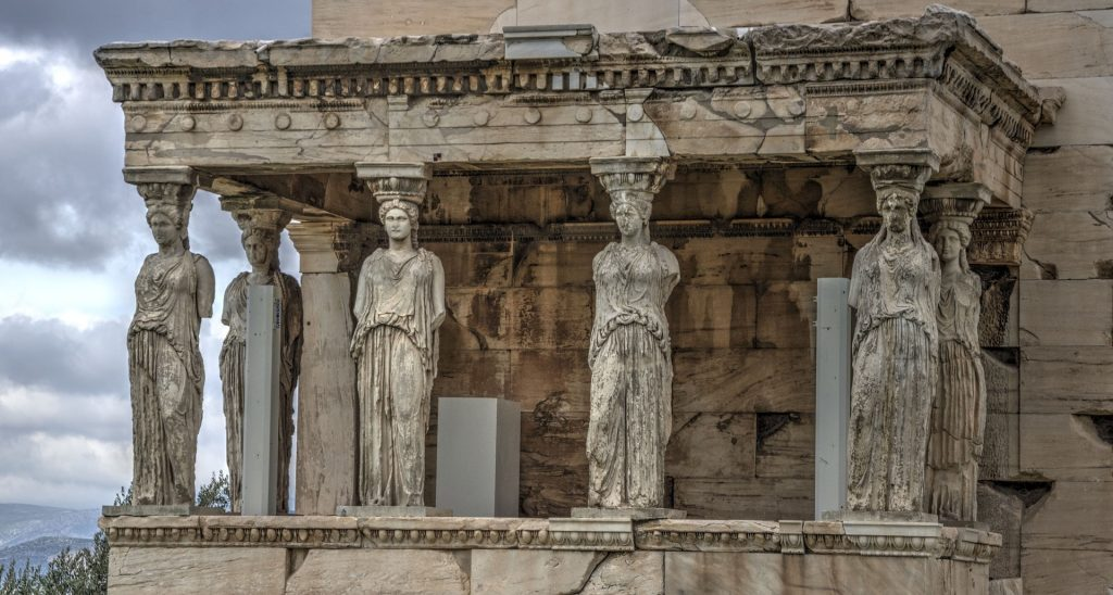The Temple Of Erechtheion at Acropolis - Tourist Attractions in Athens