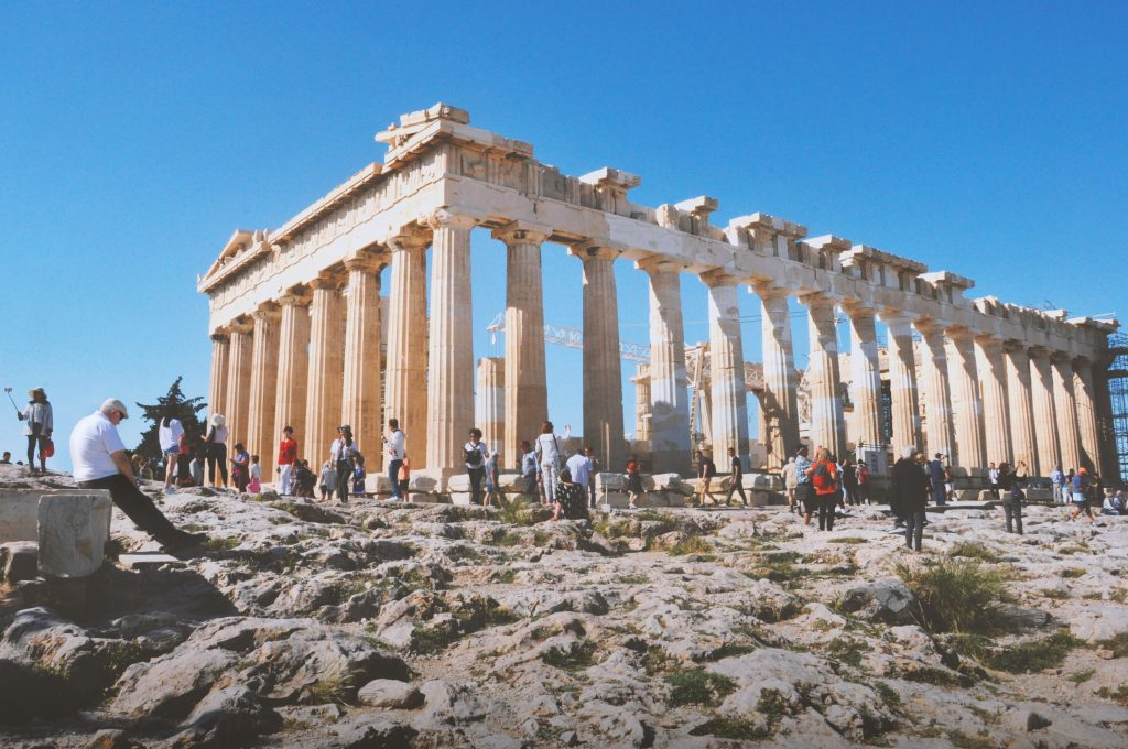 The Temple Of Parthenon