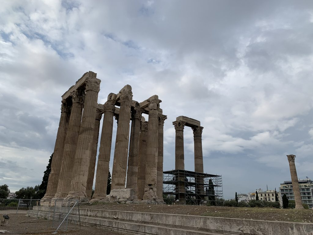 The Temple Of Olympian Zeus, Athens Greek Gods Tour