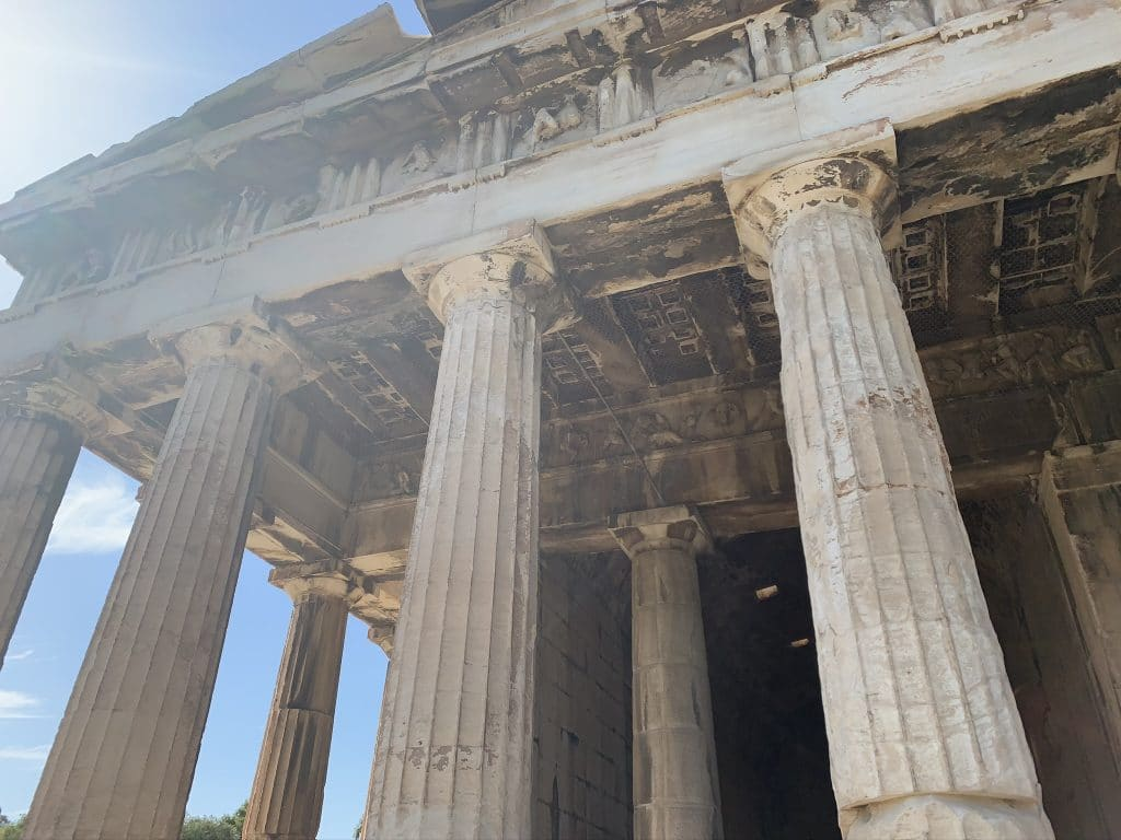 Temple Of Hephaestus, Athens Greek Gods Tour