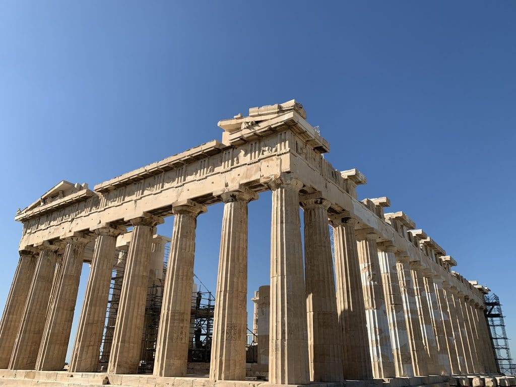 The Temple of Parthenon from below , Acropolis Private Tours
