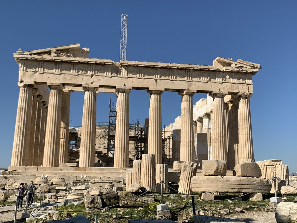 The Temple of Parthenon Greek Gods Tour, Mythology and Legends