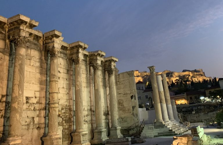 Hadrian Library, Athens Kick Off Private Tour