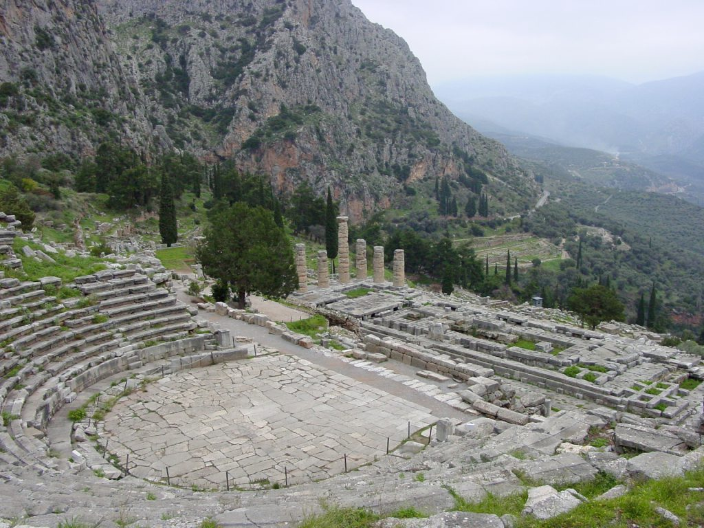 Ancient Theatre at Delphi - Tours Of Greece from Athens