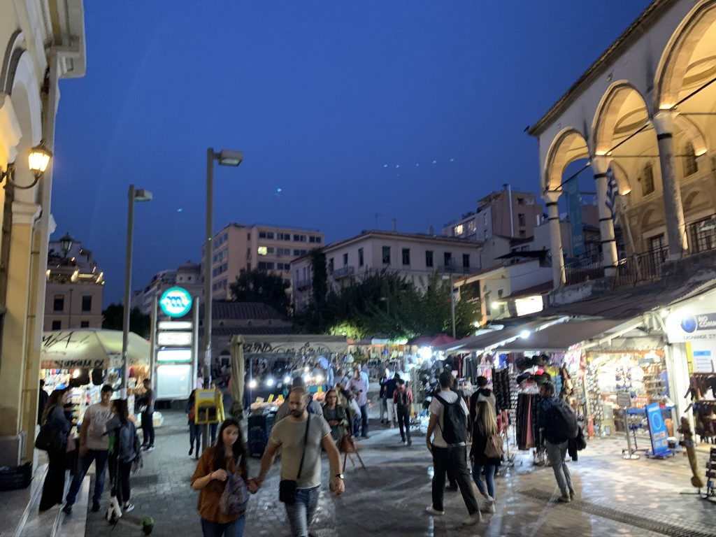 Monastiraki Square by Night, Athens Private Tours - Best Places to Visit