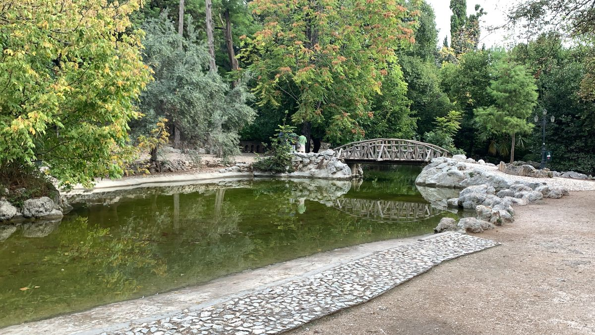 Great Athens Walk Tour - National Gardens of Athens